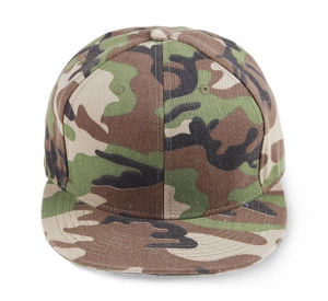 Fashion Camouflage Baseball Track Flat Snapback Cap pictures & photos