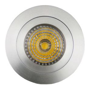Lathe Aluminum GU10 MR16 Round Fixed Recessed LED Spotlight (LT2110A) pictures & photos
