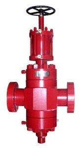 Hydraulic Flat Flanged Forging Oil Choke Gate Valve (CDGV) pictures & photos