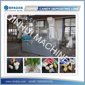 Full Automatic Depositing Type Toffee Candy Making Machine pictures & photos