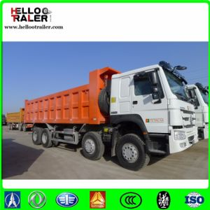 Sinotruk HOWO 8X4 Hw76cab Commercial Dump Trucks Tipper Truck pictures & photos