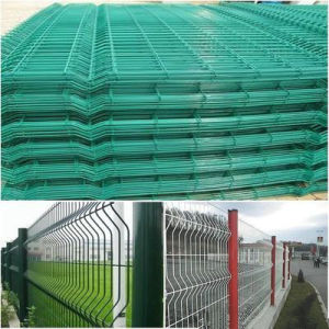 Powder Coated Welded Wire Mesh Fence, Garden Fence pictures & photos