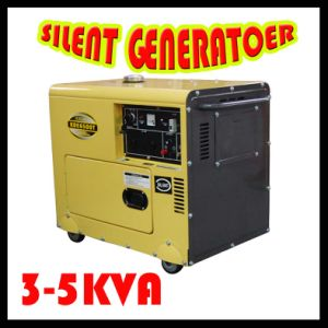 Silent Diesel Generator Set (KDE6700T) pictures & photos