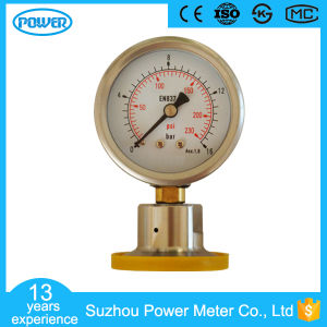 63mm 230psi Bottom Diaphragm Pressure Gauge with Brass Connector pictures & photos
