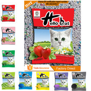 2016 5kg 7kg Colorful Bentonite Cat Litter High Quality and Clumping pictures & photos