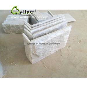 Natural Split Beige Quartzite Square Tile, Mushroom Tile and Wall Corner pictures & photos