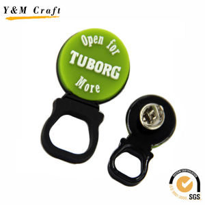 Personalized Promotion PVC Pin Badges Custom Ym1105 pictures & photos