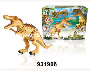 New Plastic Toys B/O Dinosaur with Light&Voice&Craw (931911) pictures & photos
