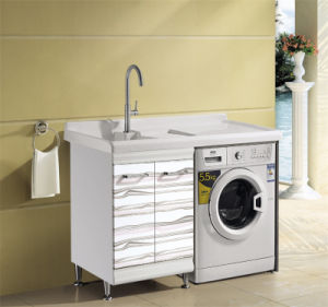 Can Install Washing Machine Bathroom Vanity (T-9737) pictures & photos
