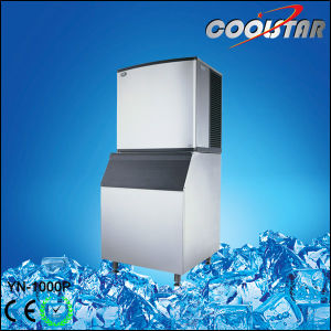 Big Capacity Ice Maker with Water Flowing Mode (YN-1000P) pictures & photos