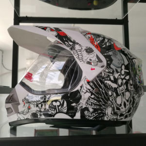 New Design Fashion Motorcycle Cross Helmets with Visor off Road Helmets pictures & photos