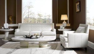 Fabric Leather Furniture Modern Sofa pictures & photos