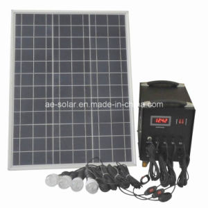 50W Solar Power System for Home Application pictures & photos