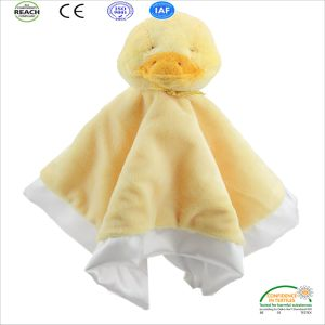 light Yellow Color Baby Winter Blanket Newly Born Baby Blanket pictures & photos