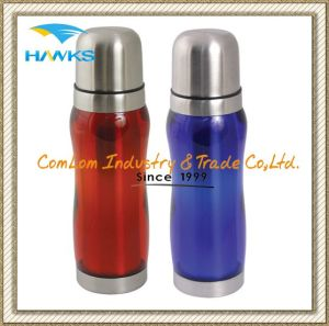 Thermal Flask with Colour Shell 500ml pictures & photos