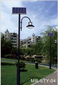 12W LED Solar Garden Light (MR-STY-04) pictures & photos
