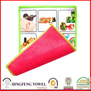 Transfer Printed Glasses Cleaning Towel-Df-2893 pictures & photos