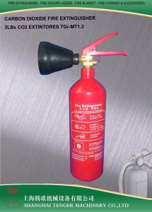 3lb, 1.3kg CO2 Fire Extinguisher -Ck45 Steel pictures & photos