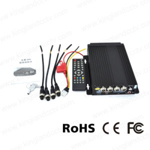 720p Ahd 4CH High Definition SD Vehicle Mobile DVR pictures & photos