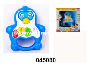 Promotional Battery Operated Penguin Toy with Music and Light (045080) pictures & photos