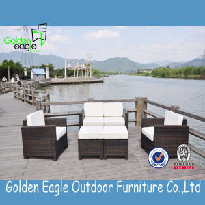 Sofa Set with PE Rattan& Aluminum Frame pictures & photos