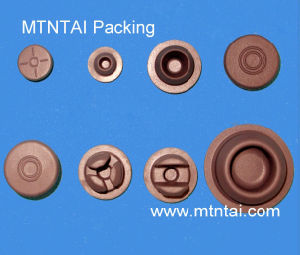 Butyl Rubber Stoppers for Injection Vials pictures & photos