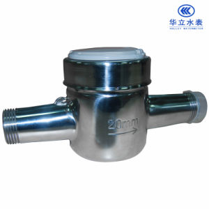 Stainless Steel Shell Water Meter (LXS-15E~LXS-25E) pictures & photos