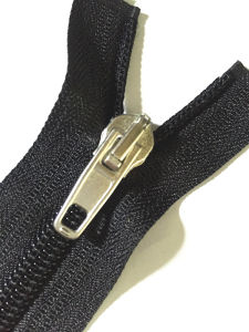 Shoe Zipper for Boots with Strong Flat Tension Strength Polyester Zipper pictures & photos