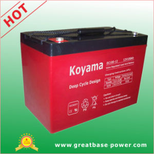 100ah 12V Deep Cycle Battery for Aerial Work Platform (AWP) pictures & photos