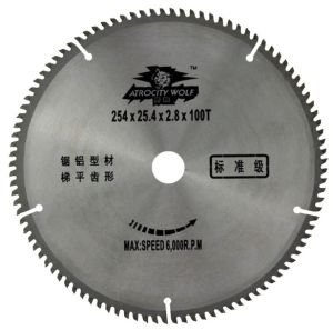 T. C. T Circular Saw Blade for Aluminium Cutting pictures & photos