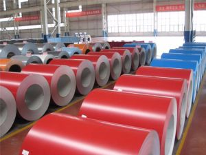G3312 SGLCC Prepainted Galvalume Steel Coil, Zinc Aluminium Color Coated Steel Coil pictures & photos