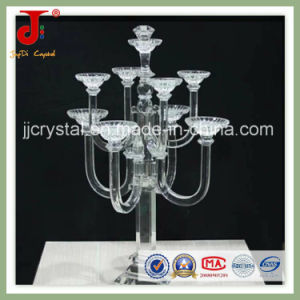 Exquisite 7 Arms Crystal Candle Holder & Candelabra for Wedding Centerpiece pictures & photos