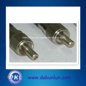 Mini CNC Lathe Optical Fiber Metal pictures & photos