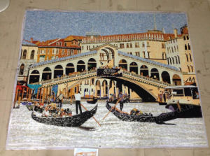 Mosaic Mural Tile, Picture Mosaic for Wall Decoration (HMP810) pictures & photos