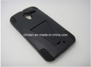New Design Hybrid PC with Silicon Combo Mobile Case for Blu Studio 5.3 II with Kickstand
