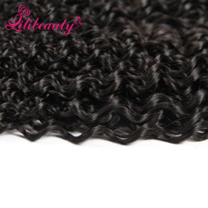 Machine Weft Mongolian Human Hair Sew in Hair Extensions pictures & photos