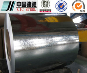 Regular Spangle Cr3 JIS G3302 Hot DIP Galvanized Steel Coil