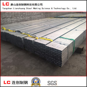 Hot Dipped Pre-Galvanized Rectangular Pipe pictures & photos