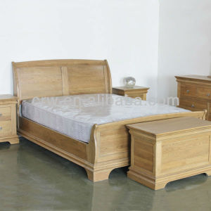 OA-4039 Solid Oak Bed Oak Furniture pictures & photos