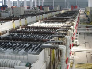 Steel Wire Electro Galvanizing Line