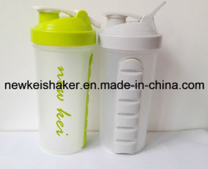 600ml Plastic Shaker Bottle with Wire Ball pictures & photos