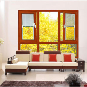 Powder Coated White Aluminum Double Glass Casement Awning Window (JBD-K23) pictures & photos