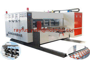 Flexo Printing Die-Cutting Machine with Automatic Lead-Edge Feeding pictures & photos