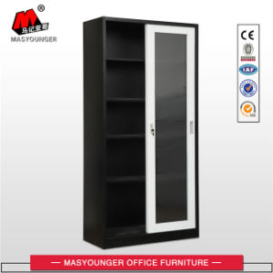 Office Furniture Kd Structure Storage Sliding Glass Door File Cupboard pictures & photos