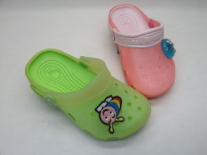 Children′s EVA/PVC Cute Summer Comfortable Slippers with Cartoon (24ja1414) pictures & photos