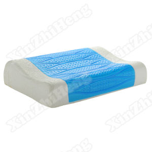 50X37cm Wholesale Cool Gel Memory Foam Bed Sleeping Neck Pillow pictures & photos
