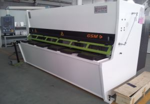 Guillotine Shearing Machine (GSM-6*3050) pictures & photos