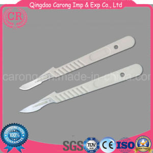 Disposable Stainless Steel Surgical Blade with Handle pictures & photos