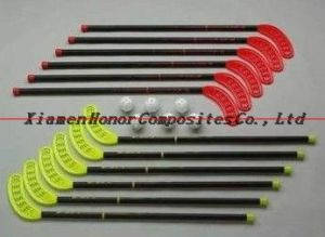 Newly-Designed Glassfiber Floorball Sticks