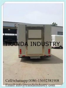 Best Selling Display Showcase Mobile Canteen pictures & photos